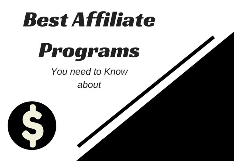 best-affiliate-programs
