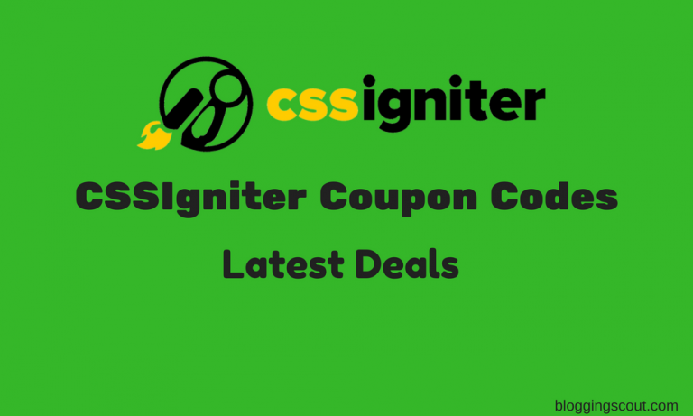 CSSIgniter Discount Coupon Codes 2018