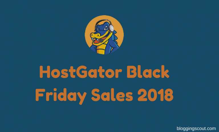 HostGator Black Friday Sale 2018