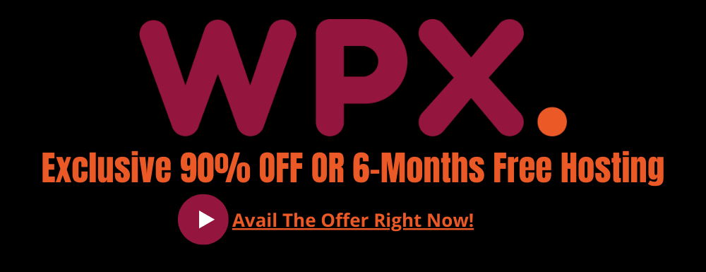 WPX Hosting Discount